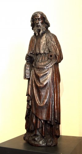 Sculpture  - Oak statue of Saint-Paul ca.1400