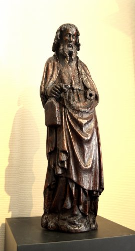 Oak statue of Saint-Paul ca.1400 -