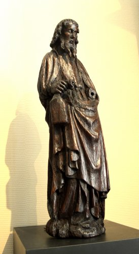 16th century - Oak statue of Saint-Paul ca.1400