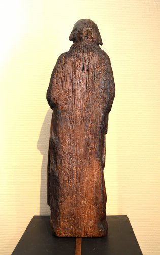 Middle age - Oak statue of Saint-Paul ca.1400