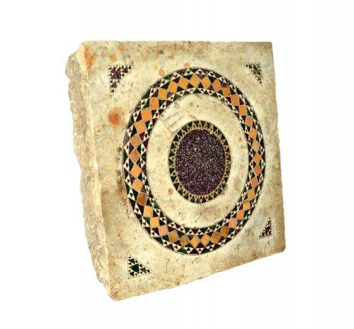 Cosmati tile, Italy, 13th century