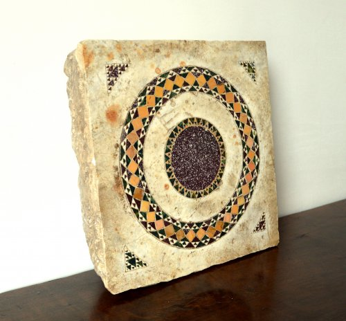 Cosmati tile, Italy, 13th century - Architectural & Garden Style Middle age
