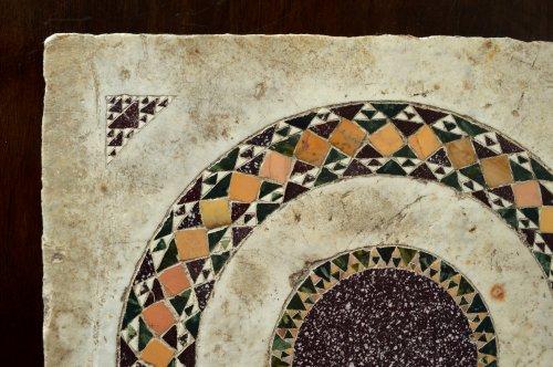 16th century - Cosmati tile, Italy, 13th century