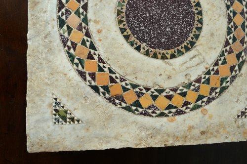 Cosmati tile, Italy, 13th century - Middle age