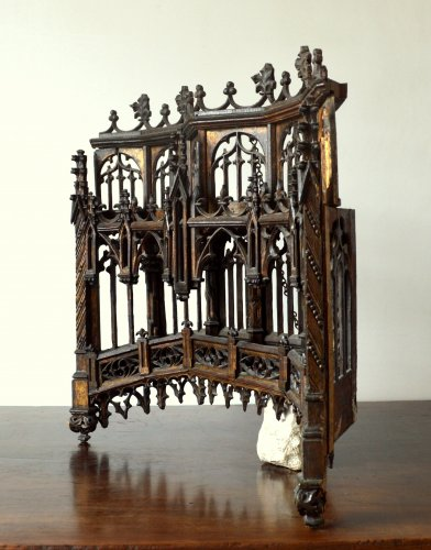 Carved oak Baldachin.Late 15th century -