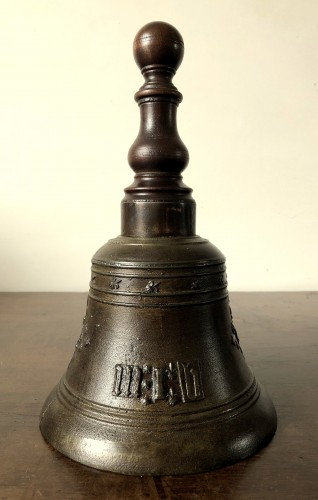 Religious Antiques  - Bronze hand bell,dated 1578