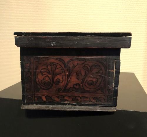 Casket in cedar wood. Northern italy. c1580. - Renaissance