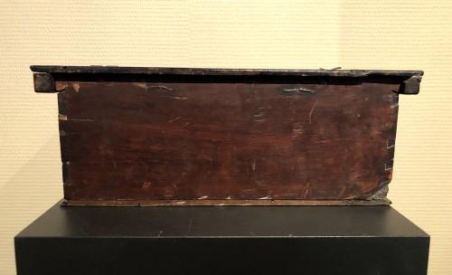 Renaissance - Casket in cedar wood. Northern italy. c1580.