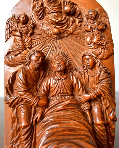 Sculpture  - A very fine  boxwood sculpture 17th century