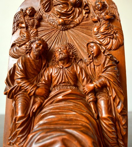 A very fine  boxwood sculpture 17th century -