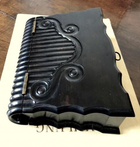 Antiquités - A dutch colonial ebony bible box.18th century