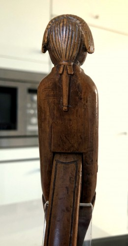 - A boxwood nutcracker,18th century