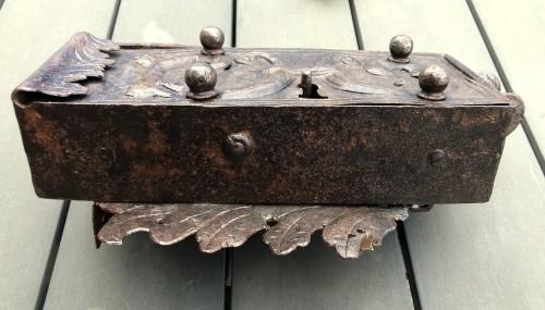 An iron door lock, Germany 18th century -