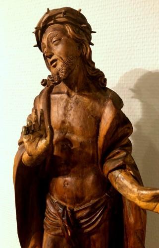 Limewood figure of Christ, Germany circa 1510 -