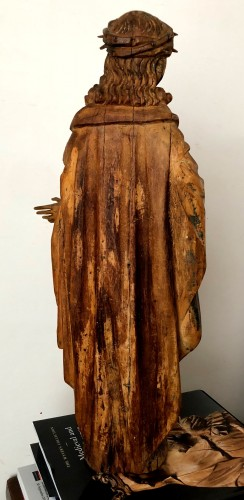 16th century - Limewood figure of Christ, Germany circa 1510