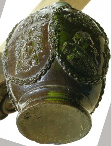 Creussen stoneware flask.Germany circa 1620 -