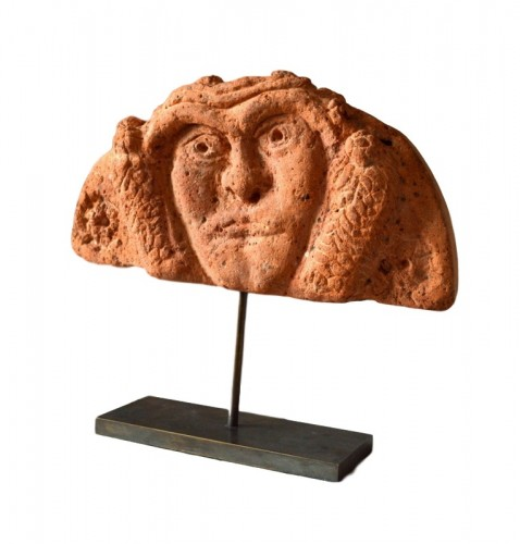 A Celtic terracotta Antefix. Circa 300 BC