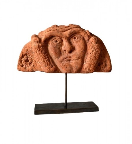 A Celtic terracotta Antefix. Circa 300 BC - Ancient Art & Antiquities Style