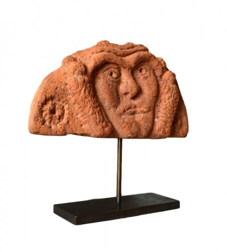 Ancient Art & Antiquities  - A Celtic terracotta Antefix. Circa 300 BC