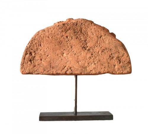 16th century - A Celtic terracotta Antefix. Circa 300 BC