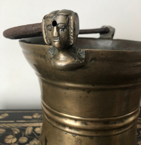 Holy water bucket, Dutch late15th century - Middle age