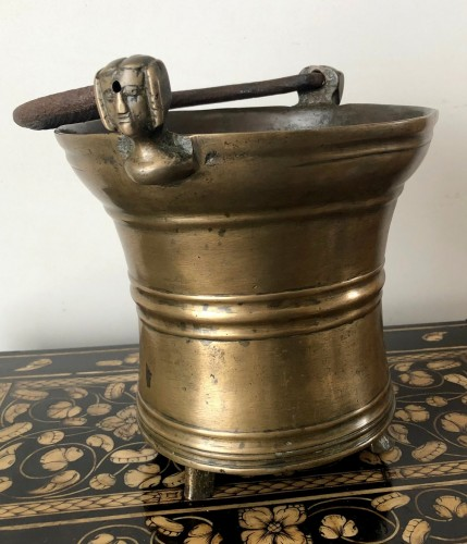 Middle age - Holy water bucket, Dutch late15th century