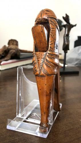 Curiosities  - A phallus shaped erotic nutcracker.18th century.
