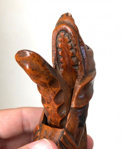 18th century - A boxwood nutcracker, France18th century