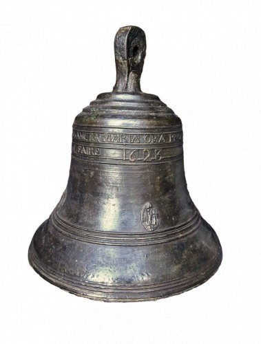 A large bronze bell.France.17th century