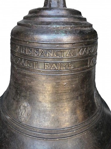 A large bronze bell.France.17th century -