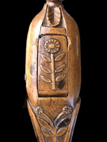 18th century - A boxwood nutcracker circa 1750