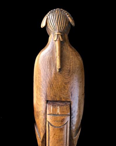 - A boxwood nutcracker circa 1750