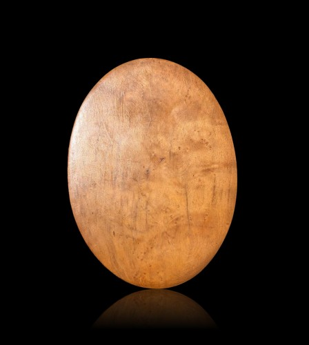 Sculpture  - A boxwood oval relief.France 17th century.