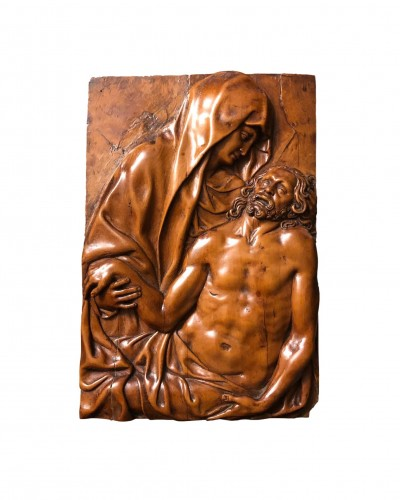 A boxwood relief with the Pieta 17th century
