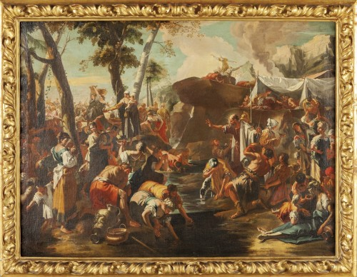 Biblical Scene - Venetian school of the 17th century