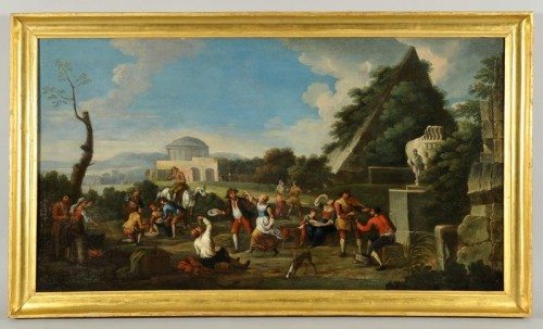 Paintings & Drawings  - Popular scenes - Italy  Late 17th - early 18th century