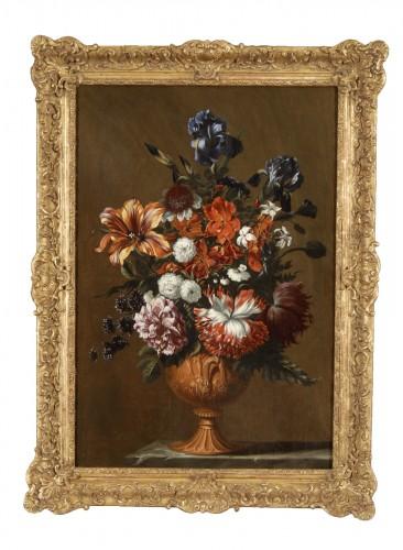 Flowers - Attributed to Jan Baptiste de Fontenay (1653 -1715)