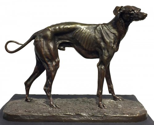 Greyhound - Pierre-Jules Mène (1810-1879)