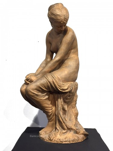 Seated woman - Auguste Joseph Peiffer (1832-1886)