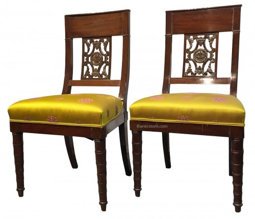 chaise restauration charles x antiquit s sur anticstore xixe si cle. Black Bedroom Furniture Sets. Home Design Ideas