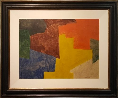 """Composition abstraite"", 1962, Serge Poliakoff (1906-1969)"