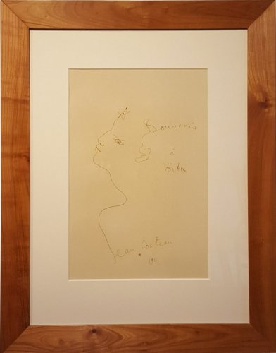 Profile to the star, Jean Cocteau