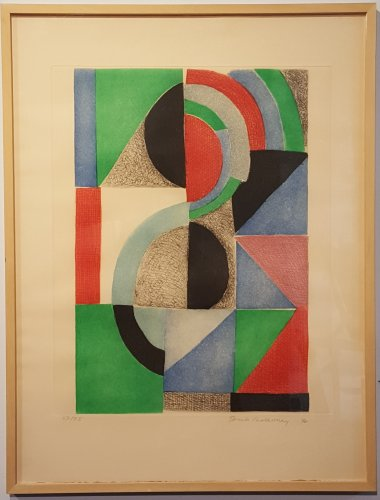 Composition, by Sonia DELAUNAY