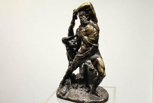 Hercules and Lichas - Antonio Canova (1757-1822) - Sculpture Style Restauration - Charles X