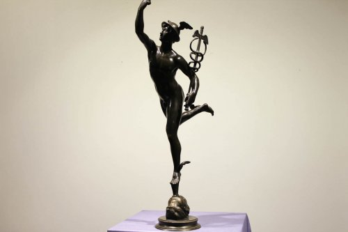 Mercury - bronze after John of Bologna - Sculpture Style