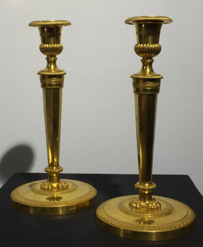 Pair of candlesticks, France late 18th century - Directoire