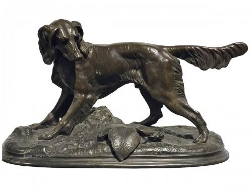 Jules Moigniez (1835 - 1894) - Hunting dog