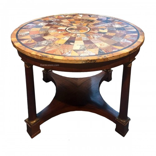 Large gueridon table, early 19th century