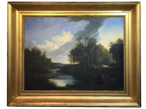 Landscape - Pierre Louis de la Rive ( 1735 - 1817 )