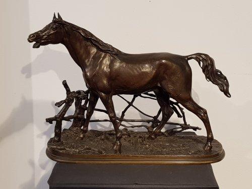 Djinn - Pierre-Jules Mène (1810-1879) - Sculpture Style